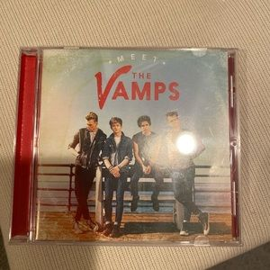 the vamps cds , meet the vamps and somebody to you
